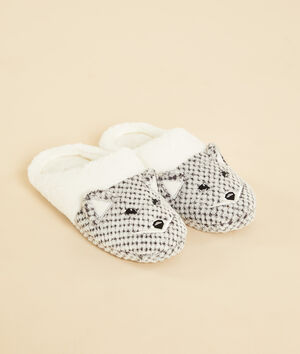 Chaussons mules animaux