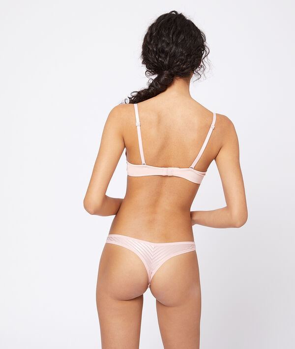 Micro tanga with openwork tulle;${refinementColor}
