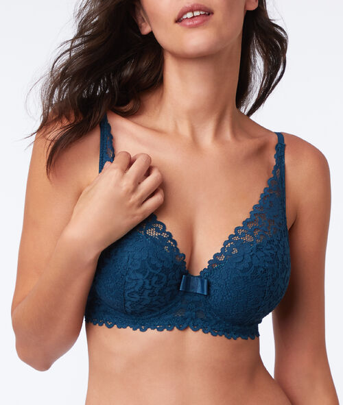 Bra no. 6 - lace padded triangle bra