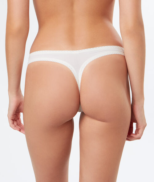 All-lace tanga