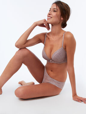 Bra no. 5 - classic padded taupe.