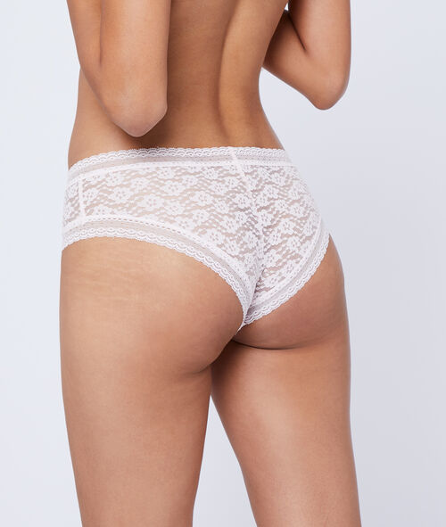 Floral lace hipster