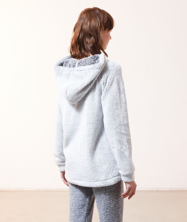 "Sweatshirt polaire ""Shine all night"";${refinementColor}"