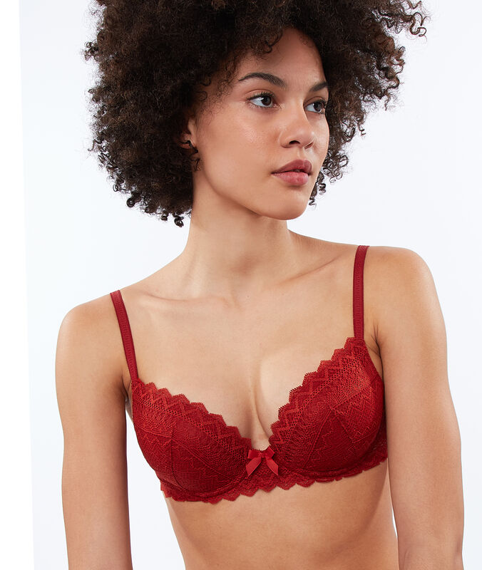 Soutien-gorge n°1 - magic up dentelle henne.