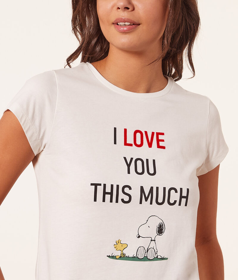 """Top snoopy """"I love you this much"""";${refinementColor}"""