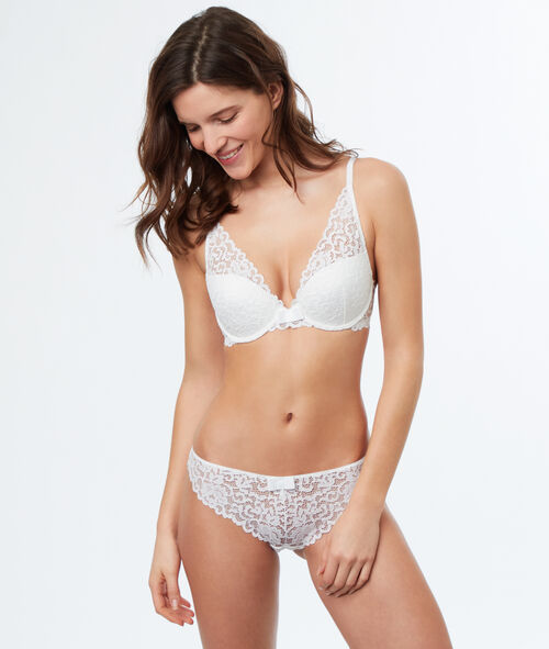 Bra No. 3  -  Push-up triangle bra