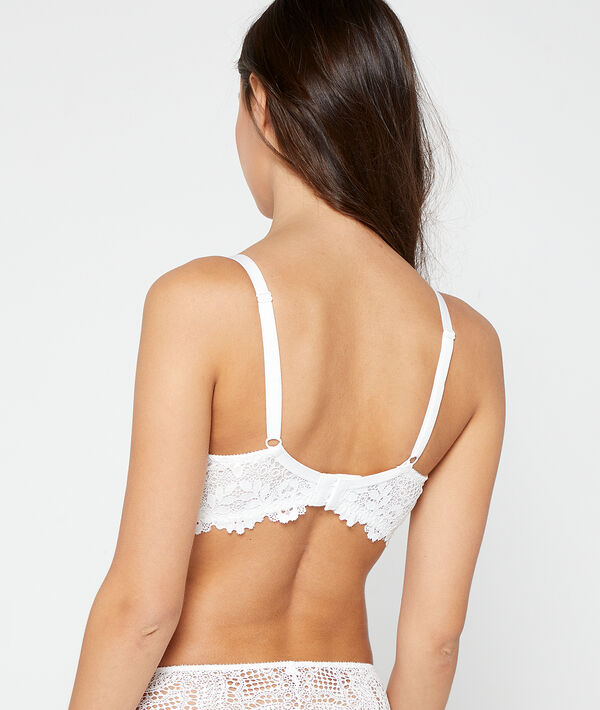 Bra n°5 - classic padded lace bra;${refinementColor}
