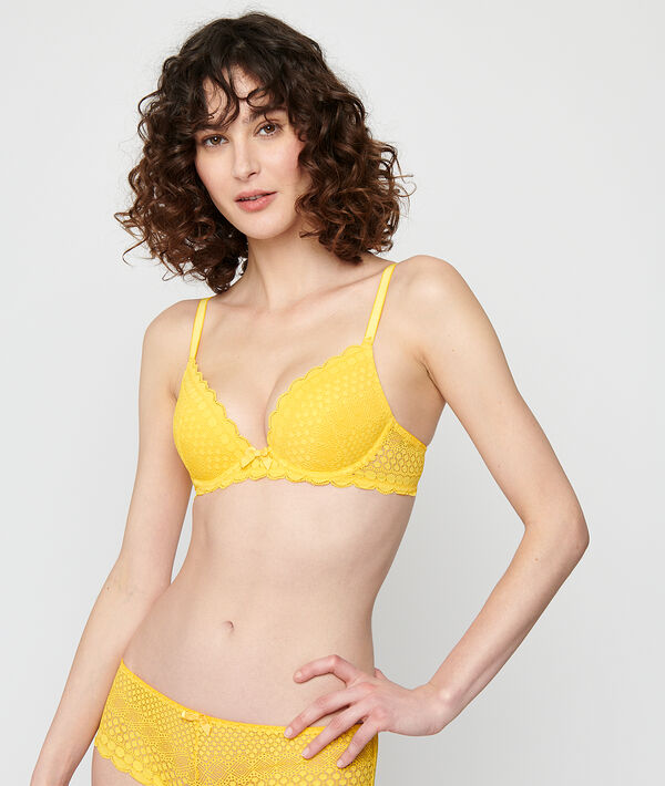 Bra n°2 - plunging push up bra;${refinementColor}