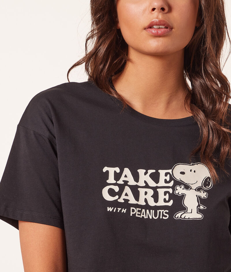 """Top Snoopy """"Take care with peanuts"""";${refinementColor}"""