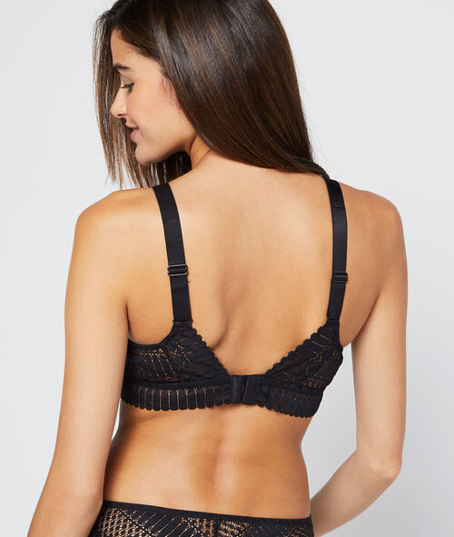 bra n°3 - triangle bra crossed neckline at the front - 102 years