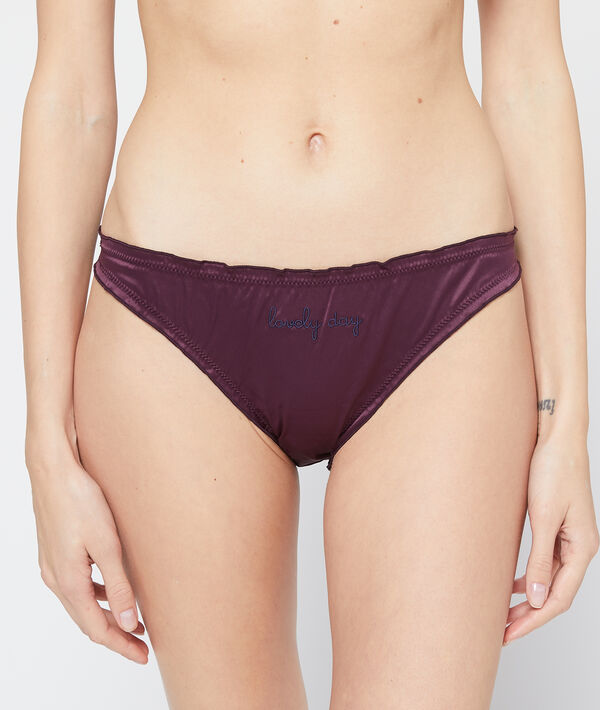 'lovely day' satin briefs;${refinementColor}