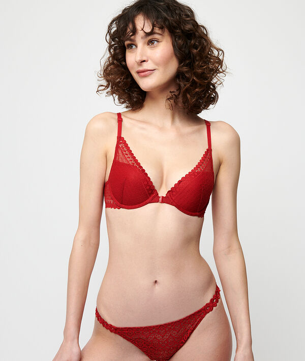 Soutien-gorge N°3 - Triangle push-up;${refinementColor}