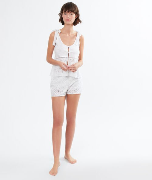 Top broderie anglaise