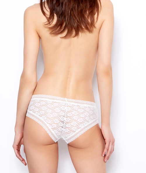 Floral lace hipsters
