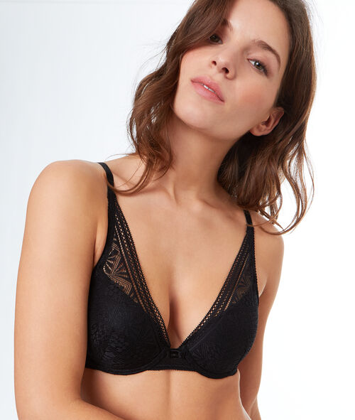 Bra No. 6  -  padded triangle bra