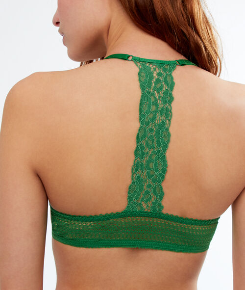 Bra No. 5  -  Lace padding, racer back