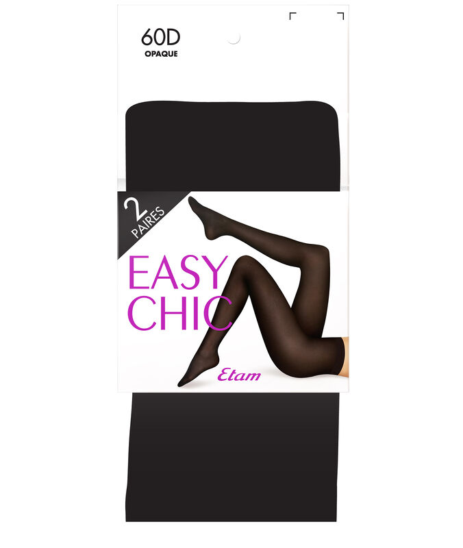 Tights, 2-pack black.