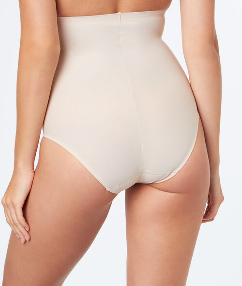 High waist sculpting briefs