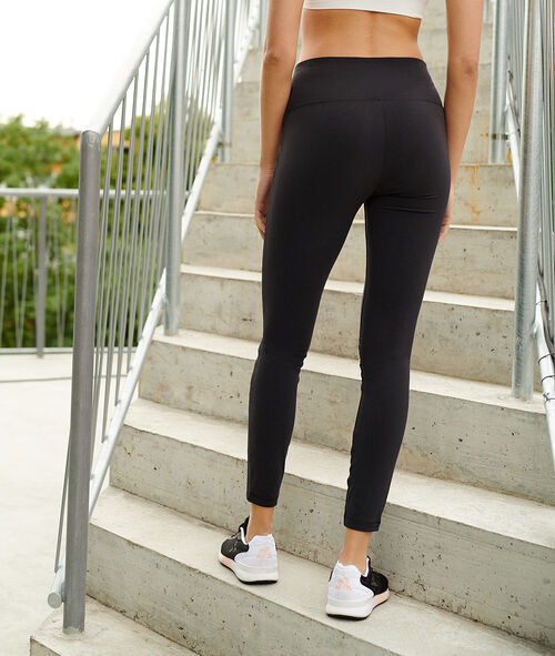 Mid-rise waist yoga leggings